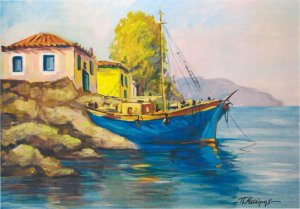 Panagiotis Messinis: Fishing Boat