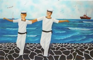 Athina Kotsoni: Alice in the Navy