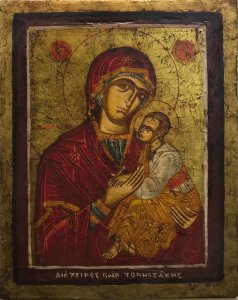 Georgios Tornesakis: Virgin and Child