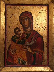 Georgios Tornesakis: Virgin of Tenderness Νο1