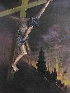 Nikos Papadopoulos: Crucified
