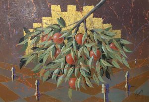 Andreas Galiotos: Still Life with Pomegranates