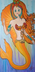 Athina Kotsoni: Nanuka Mermaid Red