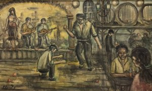 Panagiotis Eleftheriou: At the Tavern