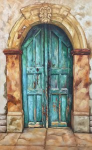 Fofi Kouka: Old Door