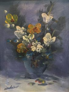 Nikos Papadopoulos: Wildflowers in Vase