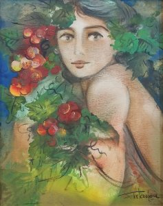 Haris Tsekoura: Embracing Flowers