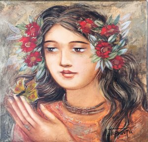 Lydia Perganta: Holding the Butterfly
