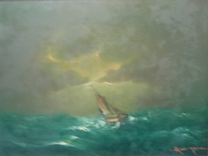 Athanasios Christou: Rough Sea