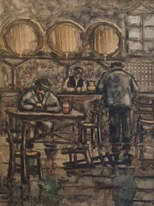 Panagiotis Eleftheriou: At the Tavern No. 2