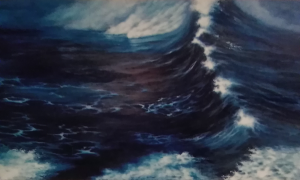 Athina Kotsoni: Big Wave