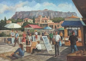 Lefteris Tsimogiannis: Under the Acropolis