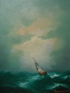 Athanasios Christou: Rough Sea No2